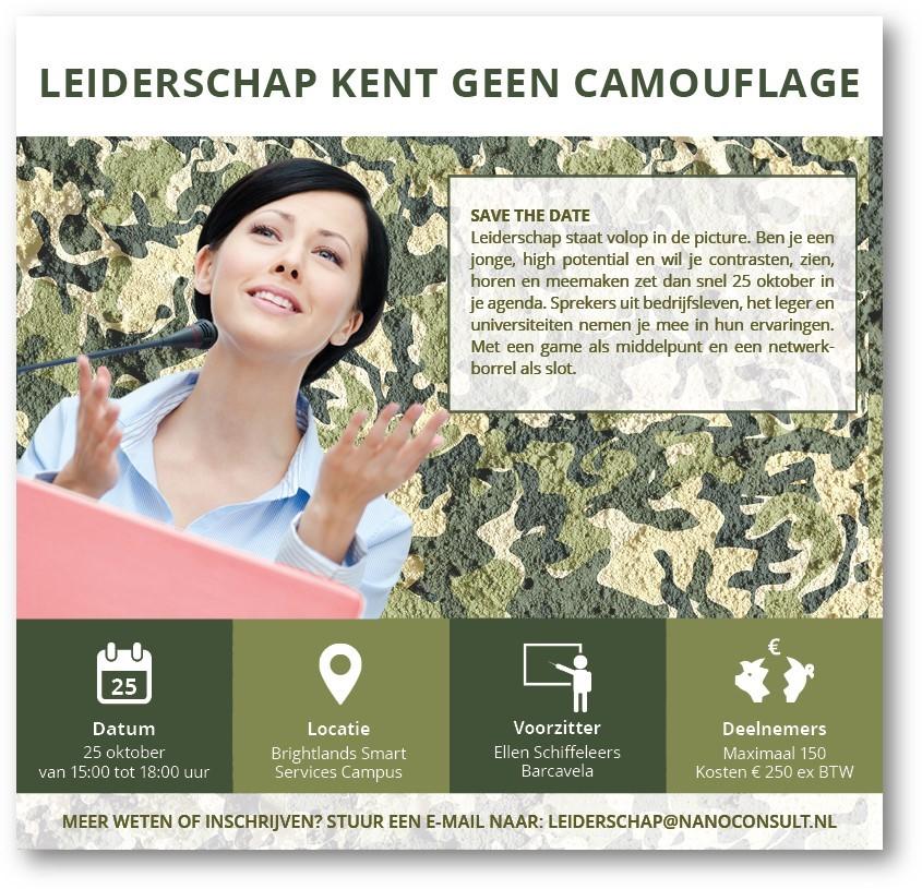 Leiderschap kent geen camouflage